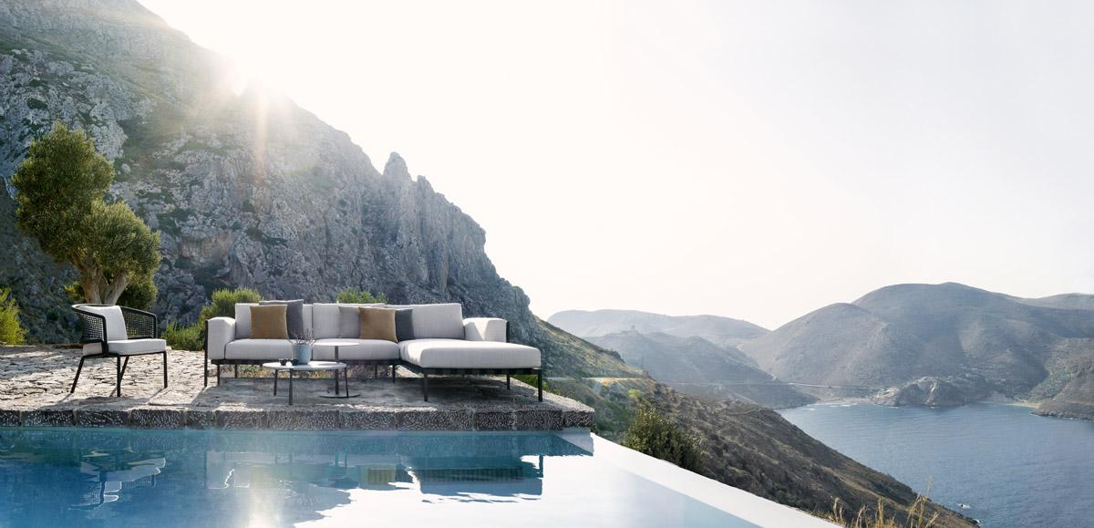 Luxus-Gartenmöbel im minimalistischen Design - N STYLE GUIDE