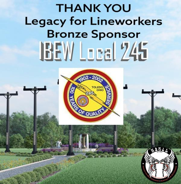 IBEW 245 Legacy Sponsor