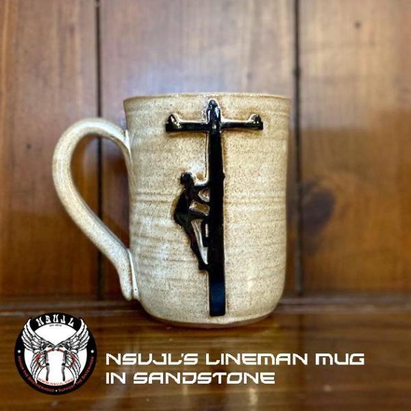 Lineman Pottery Mug