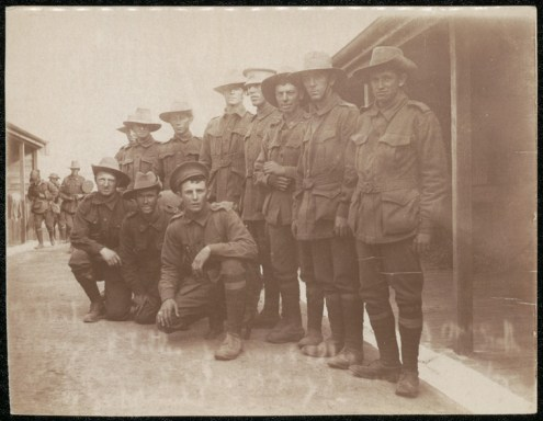 Soldiers at Liverpool Camp, c.1915. NRS 4474 [1/194] D4480