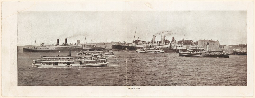 From Most up-to-date Sydney panoramic views, c. 1915. From NRS 20499, p.13.