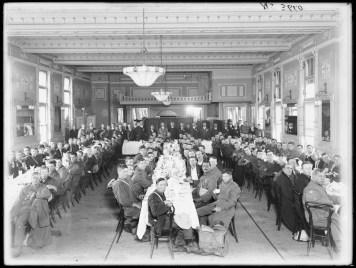 Fig 2: Luncheon, the Waratahs, Sargent's Cafe, Sydney, 17/12/1915