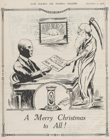 'A Merry Christmas to All!', December 1918. From NRS 15298, [27], p. 2