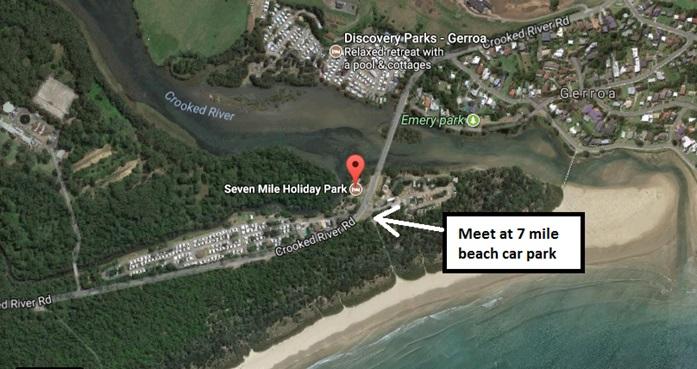 Gerroa beach map