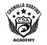 Cronulla surf academy logo