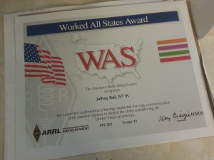 WAS Award