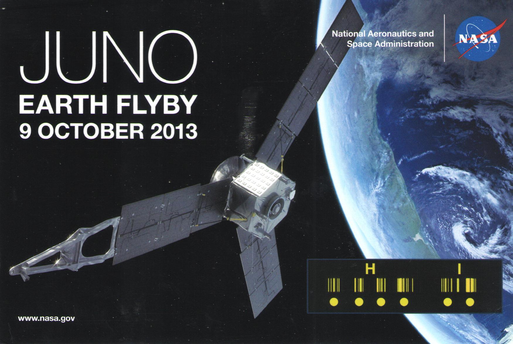 Hi Juno QSL Front