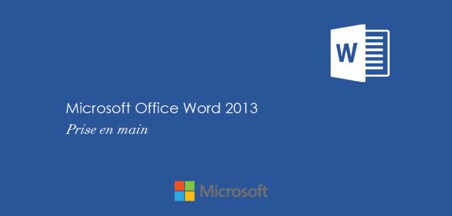 MOS Word 2013