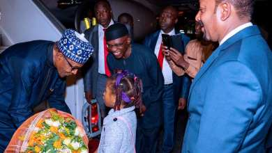 Photo of Photo News: Buhari arrives Addis-Ababa Ethiopia ahead of 33rd Ordinary Session of the Heads of State and Government of the African Union (AU)