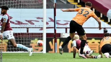 """Photo of """"Nice to dream"""" of top four as Wolves beat Villa"""