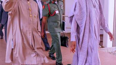 Photo of Buhari presides over virtual meeting of Council of State