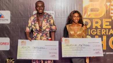 Photo of Damilare, Christiana emerge winners in Big Dreams Nigeria talent show