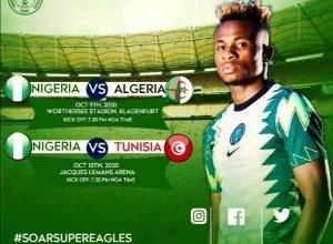 Photo of Nigeria-Algeria friendly match gets new venue