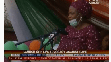 Photo of VIDEO (Live): Launch of NTA's Advocacy Against Rape
