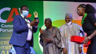 Photo of Ogun receives Award for Federal Govt/International Fund for Agric. Development Value Chain Development Programme Activities