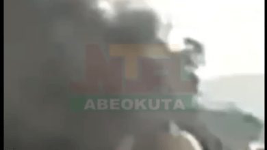 Photo of Video: NTA Abeokuta i-Witness Report: Fire Explosion at Abeokuta