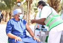 Photo of Buhari's Chief of Staff, Senior Aides receive COVID-19 Vaccine at State House Clinic