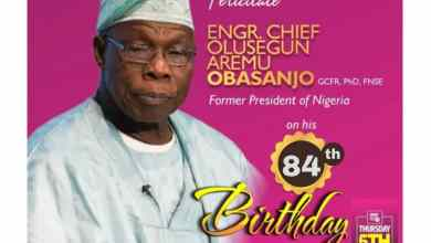 Photo of Celebrating Former President Obasanjo @ 84