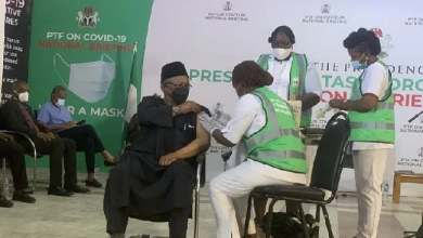 Photo of Mustapha, PTF Members, Others Receive COVID-19 Vaccine
