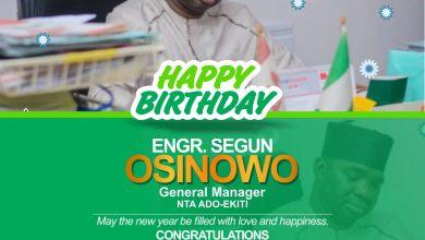 Photo of Birthday Celebration: NTA Abeokuta Congratulates GM NTA Ado-Ekiti, Engr. Segun Osinowo