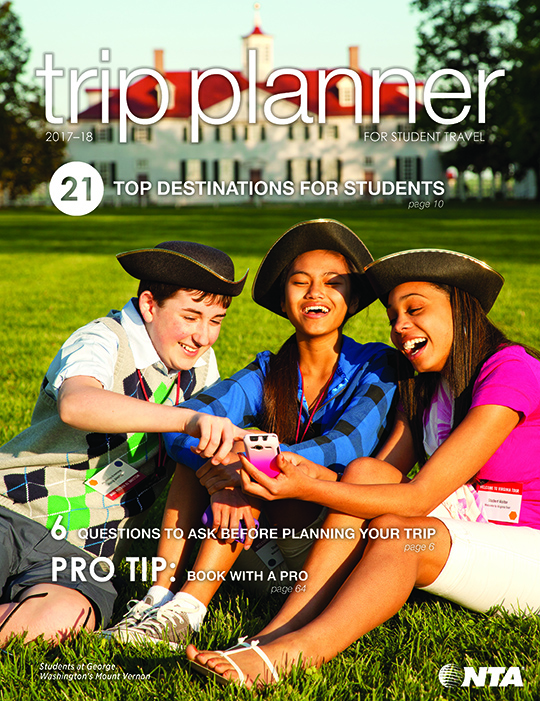 2017-18 Student Trip Planner Cover