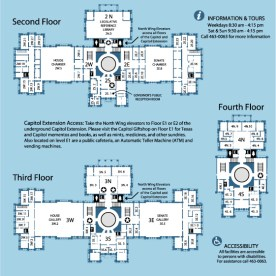 Capitol Building - Second, Third, Fourth Floors (Rm # 2, 3, 4)