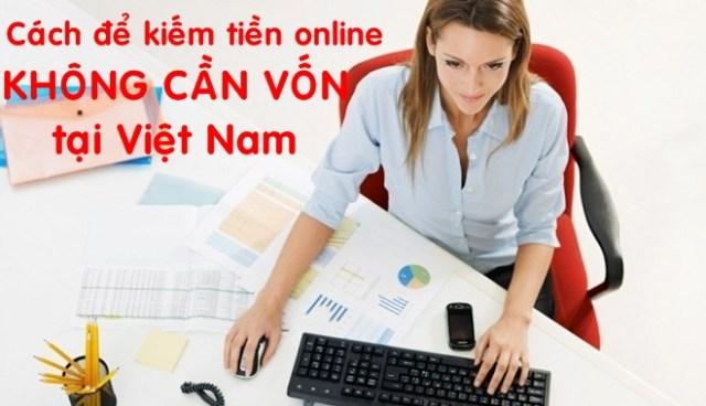 Hướng dẫn kiếm tiền online không cần vốn cùng NTCServices.
