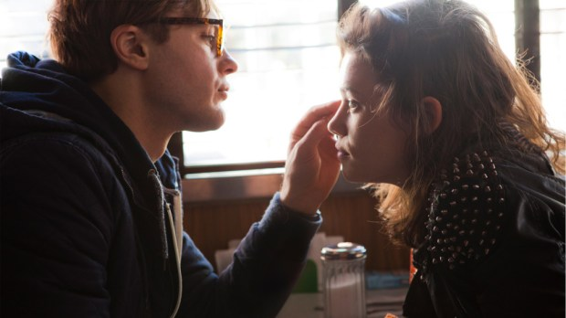 "Michael Pitt ('Ian') and Astrid Bergès-Frisbey ('Sofi') star in Mike Cahill's metaphysical thriller ""I Origins."" Photo courtesy of Fox Searchlight Pictures."