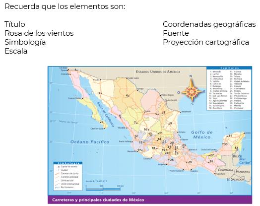 Aprendamos A Leer Los Mapas Geografía Cuarto De Primaria Nte Mx Recursos Educativos En Línea
