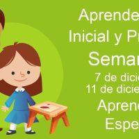 Aprendizajes esperados Semana 16 del 7  al 11 de diciembre aprende en casa Inicial y Preescolar