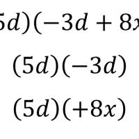 Productos y cocientes de polinomios - Matemáticas Tercero de Secundaria