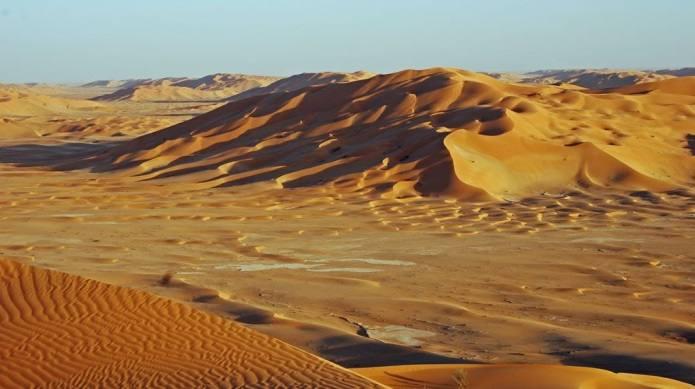 areas protegidas en el mundo Desierto de Rub-al-Jali
