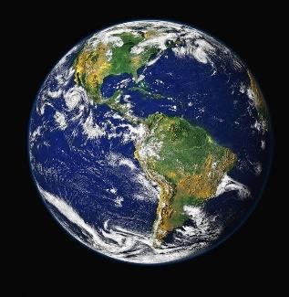 La Tierra, Planeta Azul, Mundo, Planeta, Espacio