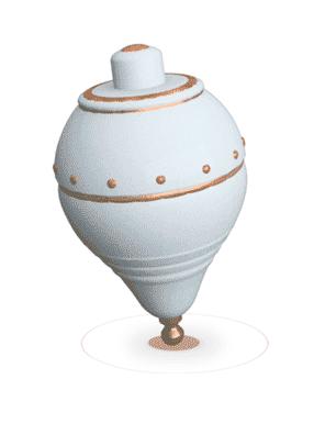 Un florero de cerámicaDescripción generada automáticamente con confianza baja