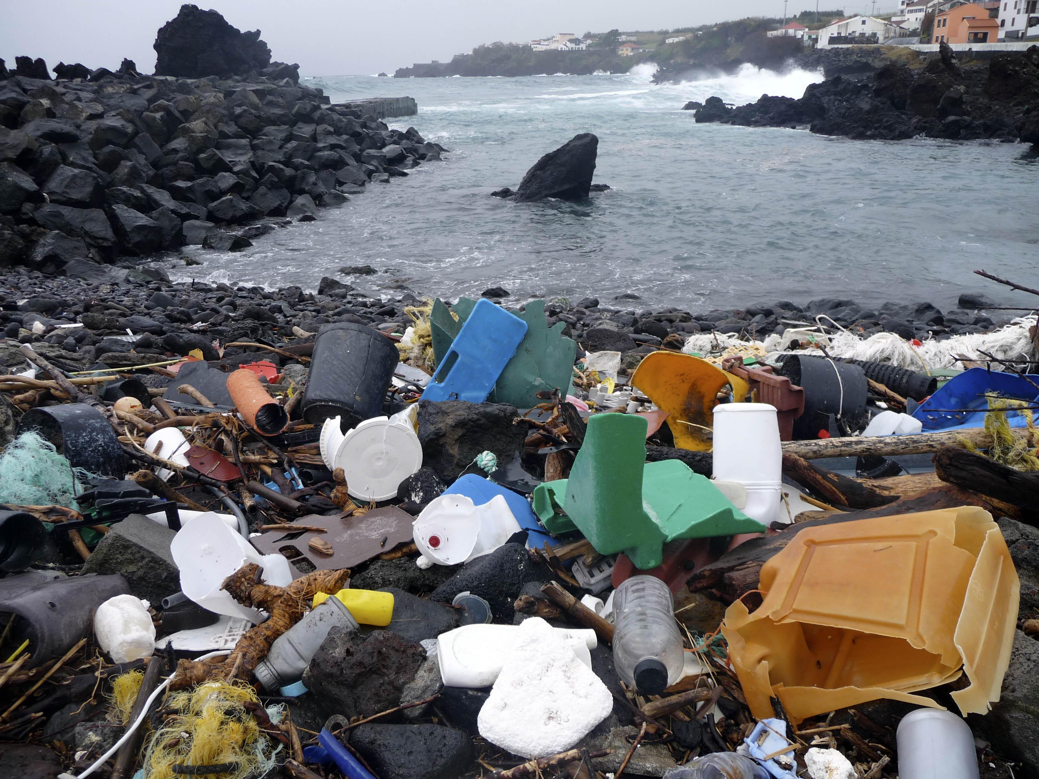 Atlantic Ocean Junk