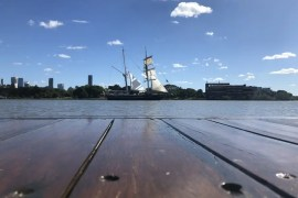 Timber Deck Oiling Project