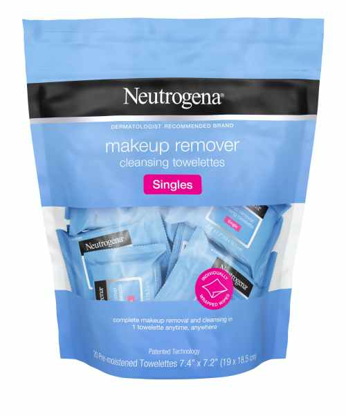 Image result for neutrogena makeup towelettes singles