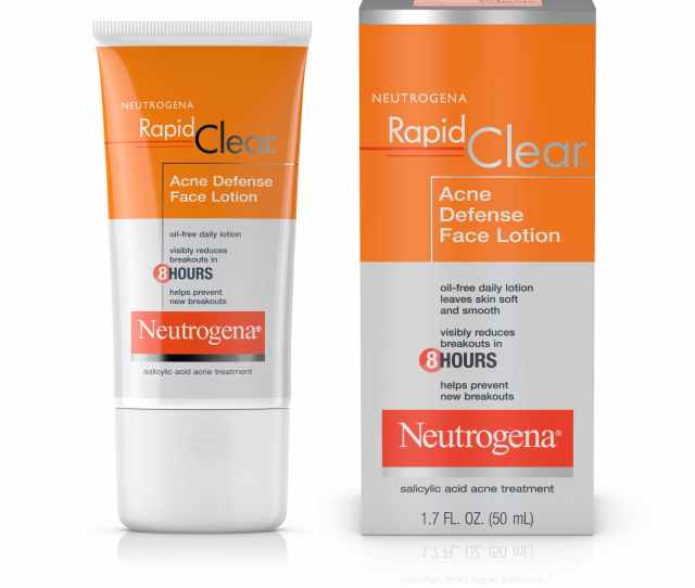 Rapid Clear Acne Defense Face Lotion