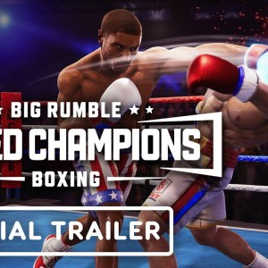 Big Rumble Boxing: Creed Champions - Official Arcade Story Gameplay Trailer