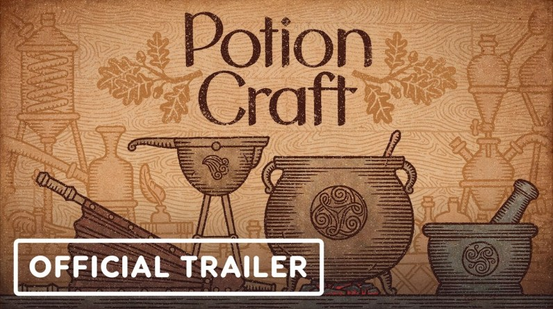 Potion Craft - Official Early Access Release Trailer