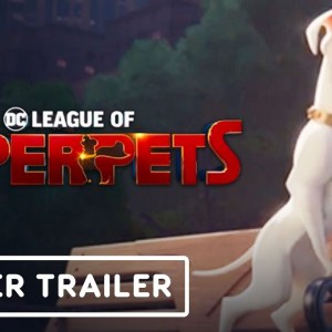 DC League of Superpets: The Adventures of Krypto and Ace - Announcement Trailer | DC Fandome 2021