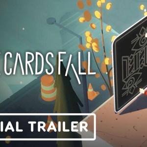 Where Cards Fall - Official PC and Nintendo Switch Release Date Announcement Trailer