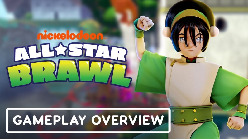 Nickelodeon All-Star Brawl - Official Toph Gameplay Overview (Avatar: The Last Airbender)