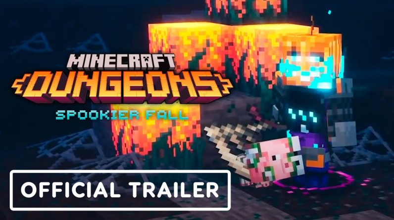 Minecraft Dungeons: Spookier Fall - Official Trailer