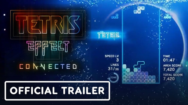 Tetris Effect: Connected - Official Nintendo Switch Launch Trailer