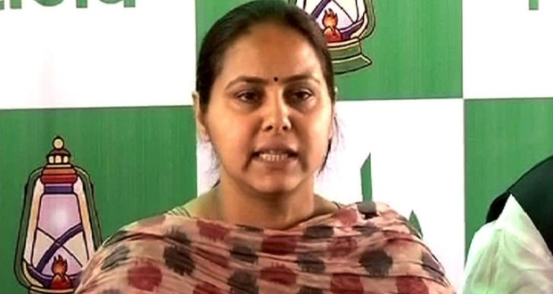 nti-news-misa-bharti-ca-arrested-
