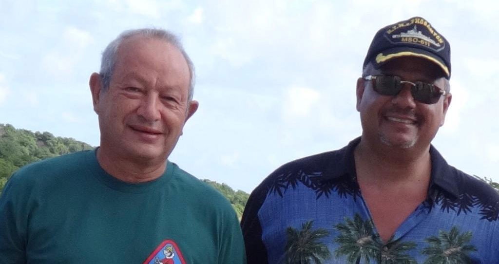 Naguib Sawiris with Mr. Sherif Fakhry Younes and the launch of his second Project in Grenada NTL