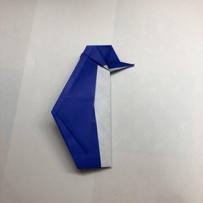 折り紙動物園シリーズ!可愛いペンギンが登場しました!