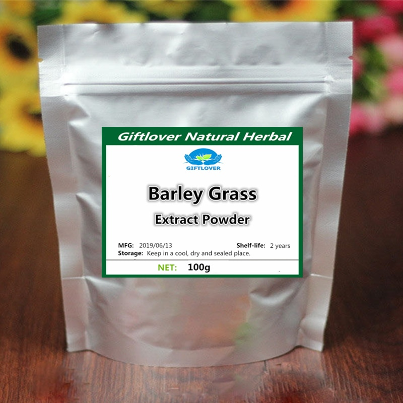 100 Natural Barley Grass Extract Powder Wheat Seedling Drink Powder Top Grade Health Care Supplement Non