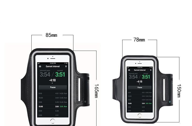Arm Running Bags for Smartphones